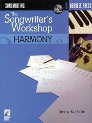 Songwriter's Workshop Harmony