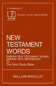 New Testament Words