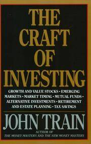 Craft Of Investing, The