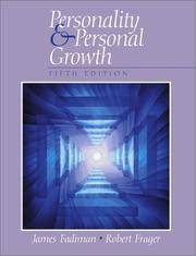 Personality and Personal Growth (5th Edition)