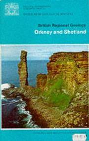 British Regional Geology  -  Orkney and Shetland.