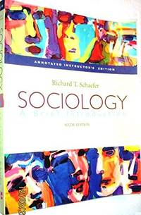 image of Sociology: A Brief Introduction, 6th edition (AIE)