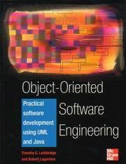 Object-Oriented Software Engineering; Practical Software Developmnet Using Uml and Java