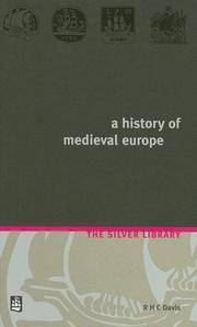 image of History of Medieval Europe: from Constantine to St Louis (2nd Edition) (Silver Library)