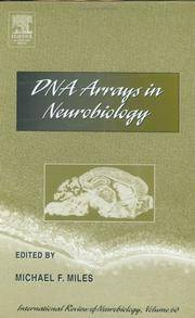 DNA Arrays In Neurobiology