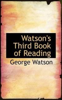 Watson's Third Book Of Reading