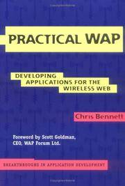 image of Practical WAP: Developing Applications for the Wireless Web (Breakthroughs in Application Development)