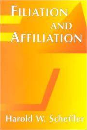Filiation And Affiliation