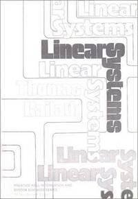 Linear Systems by  Thomas Kailath - Hardcover - 1980-01-11 - from Light House and Biblio.com