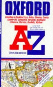 """A. to Z. Street Atlas of Oxford: 1m-3.75"""" (A-Z Street Atlas)"""