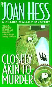 Closely Akin to Murder (A Claire Malloy Mystery)