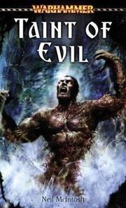 Taint of Evil (Warhammer Novels)