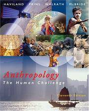 image of Anthropology: The Human Challenge (with CD-ROM and InfoTrac)