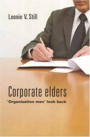 Corporate Elders: 'Organisation Men' Look Back