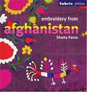 image of Embroidery from Afghanistan (Fabric Folios)