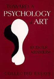 Toward a Psychology of Art: Collected Essays.