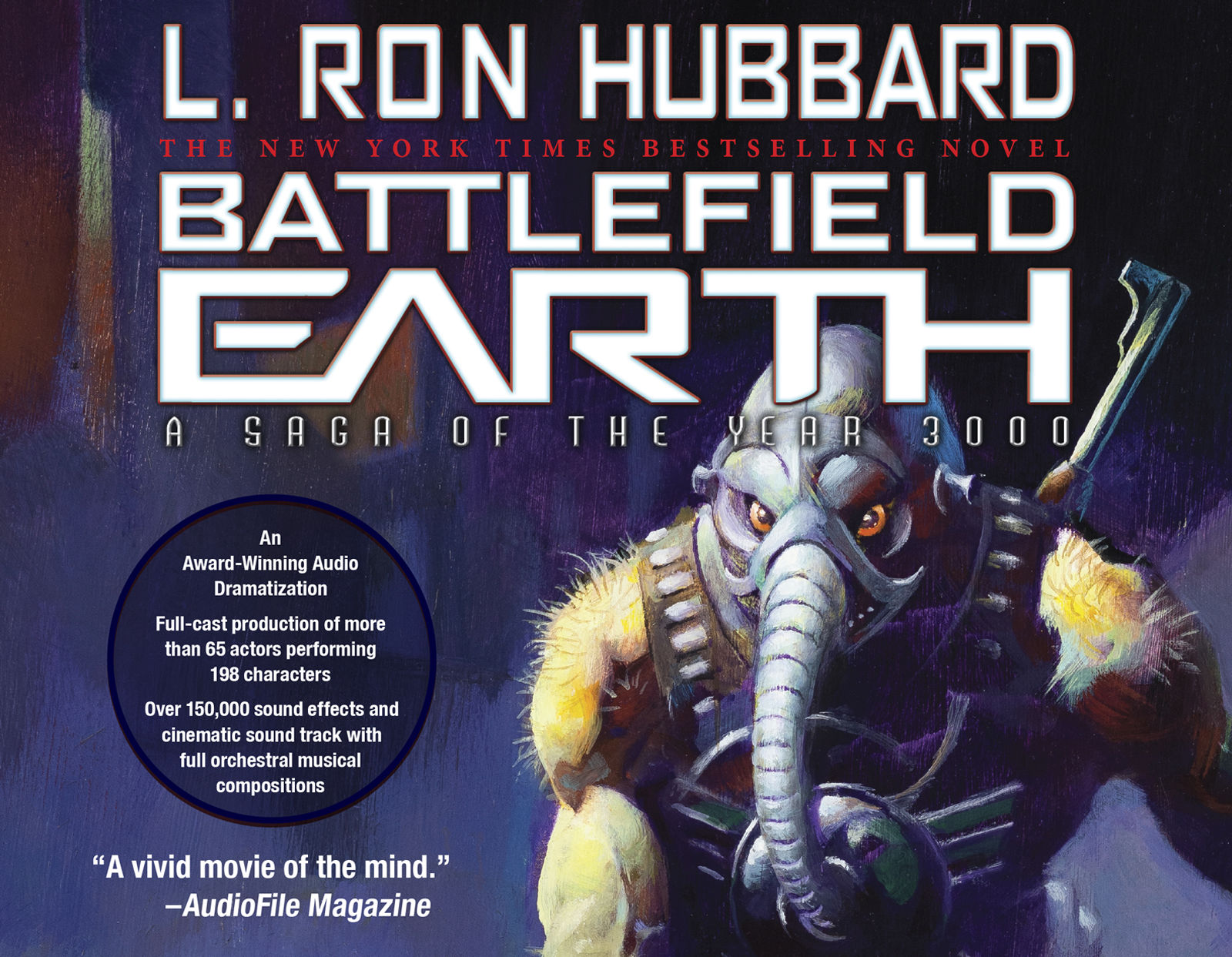 Battlefield Earth: Pulse-pounding Sci-Fi Action Unabridged Audio Library  Edition by L  Ron Hubbard - 2016-03-01 - from Books Express and Biblio com