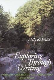 Exploring Through Writing