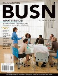 BUSN 3 (with Review Cards and Introduction to Business CourseMate with eBook Printed Access Card)...