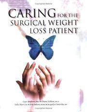 CARING For The Surgical Weight Loss Patient