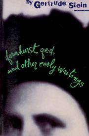Fernhurst, Q E D, and Other Early Writings