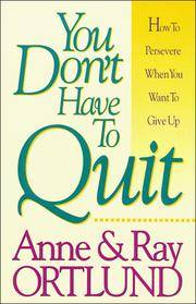 You Don't Have to Quit