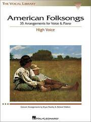 American Folksongs - High Voice (The Vocal Library Series)