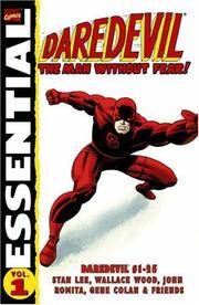 Essential Daredevil, Vol. 1 (Marvel Essentials) (v. 1)