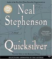 image of Quicksilver: Volume 1 of The Baroque Cycle, Selections Approved by the Author (Audio Book on 20 CDs)