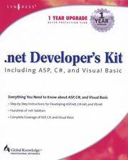 .NET Developer's Kit Including ASP, C#, and Visual Basic by Cameron Wakefield; Robert Patton; Wei Meng Lee - Paperback - 2001 - from Junic Resources (SKU: 192899461X)
