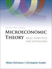image of Microeconomic Theory: Basic Principles and Extensions (with Economic Applications, InfoTrac Printed Access Card)