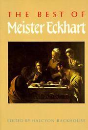 Best Of Meister Eckhart, The