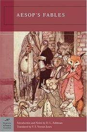 image of Aesop's Fables (Barnes_Noble Classics Series)