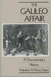 The Galileo Affair. A Documentary History. by FINOCCHIARO, Maurice A. (Edited and translated, with an Introduction and Notes by) - 1989