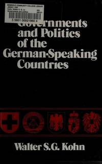 Governments and Politics of the German-Speaking Countries