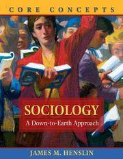 image of Sociology: A Down-to-Earth Approach, Core Concepts