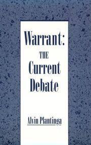 Warrant: The Current Debate