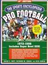 image of Sports Encyclopedia : Pro Football : 1972-1996