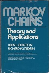 Markov Chains Theory And Applications