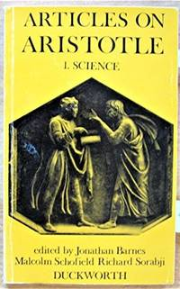 Articles on Aristotle: Science v. 1