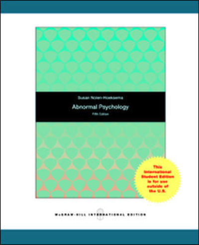 Abnormal psychology deals chiefly with