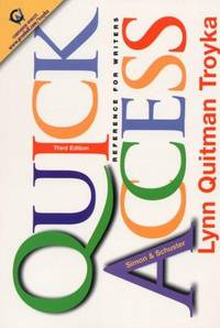 SIMON & SCHUSTER QUICK ACCESS REFERENCE FOR WRITERS
