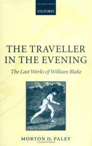 The Traveller In the Evening
