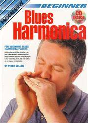CP69162 - Progressive Beginner Blues Harmonica - Book/CD/DVD