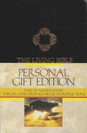 The Living Bible, Paraphrased - Personal Gift Edition/Black