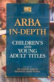 ARBA in-depth; children's and young adult titles. (ARBA in-depth)