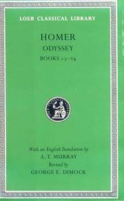 Odyssey, Volume II � Books 13�24 (Greek) by  George E  A. T./ Dimock - Hardcover - 1995 - from Revaluation Books (SKU: __0674995627)