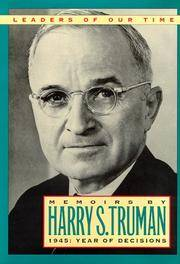 Memoirs By Harry S Truman
