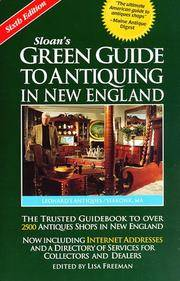 Sloan's Green Guide to Antiquing in New England