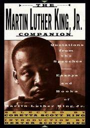 The Martin Luther King, Jr Companion